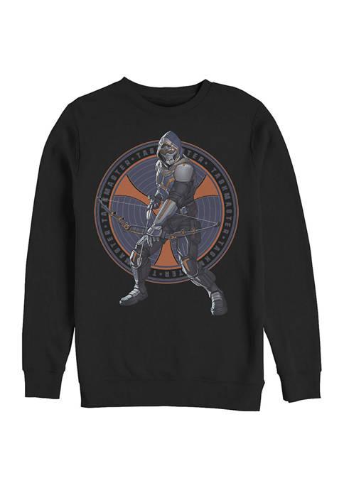 TaskMaster Circle Graphic Crew Fleece Sweatshirt