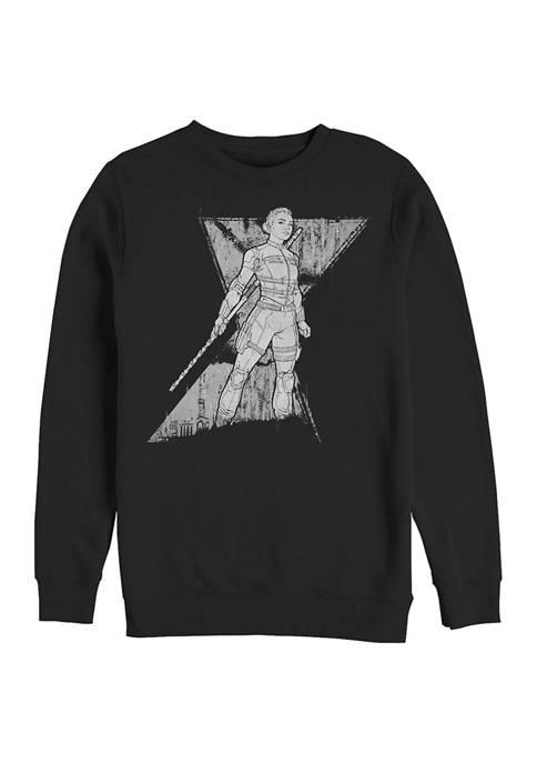 Marvel™ Spy Yelena Graphic Crew Fleece Sweatshirt