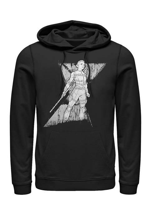 Marvel™ Spy Yelena Graphic Fleece Hoodie
