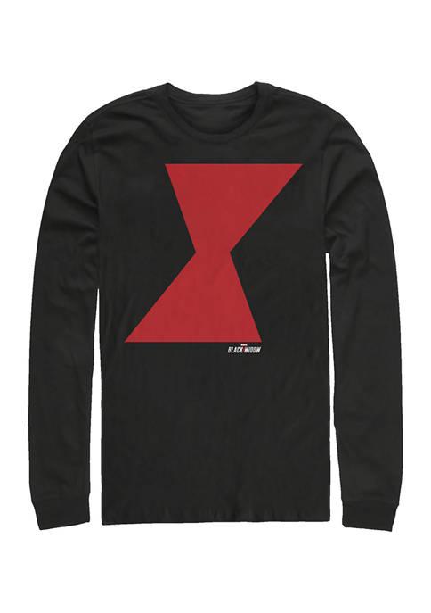 Widow Icon Graphic Long Sleeve T-Shirt