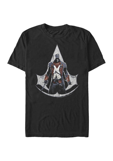Border Alone Graphic Short Sleeve T-Shirt