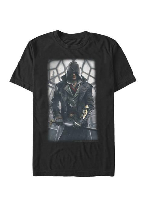 Clock Tower Graphic Short Sleeve T-Shirt