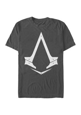 Assassins Creed Mens The Syndicate Logo Graphic Short Sleeve T-Shirt
