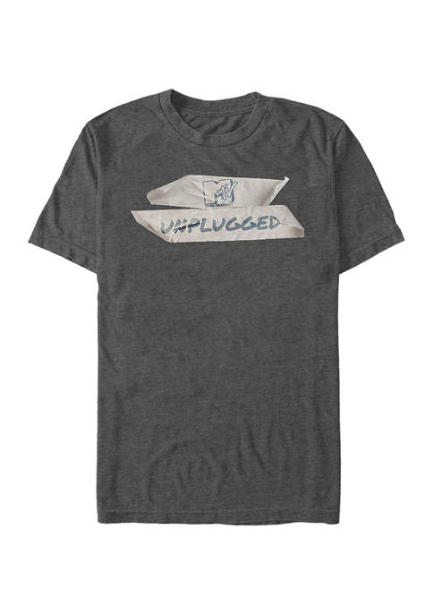 MTV Real and Unplugged Graphic Short Sleeve T-Shirt