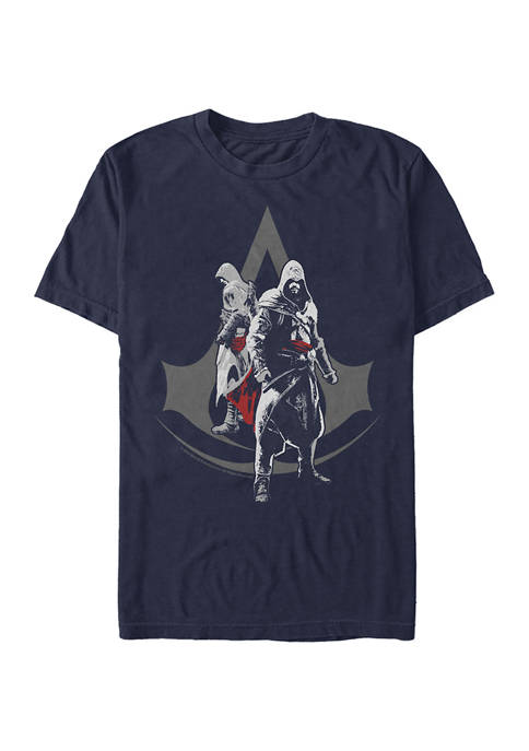 The Troubled Fortelling Graphic Short Sleeve T-Shirt