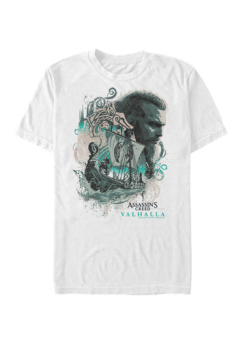 Eivor Boat Thoughts Graphic Short Sleeve T-Shirt