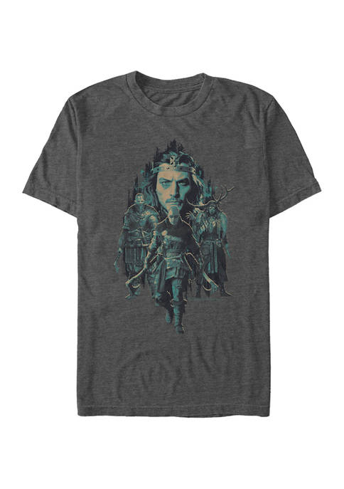 Assassin's Creed Group Shot Graphic Short Sleeve T-Shirt