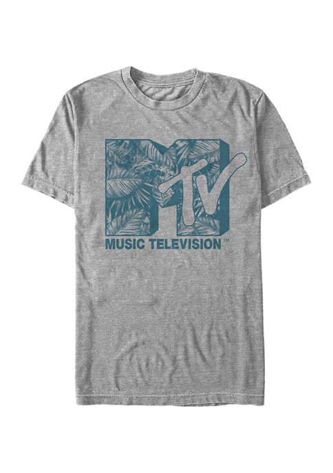 Tropic Block Graphic Short Sleeve T-Shirt