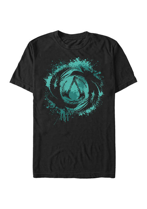Color Pop Valhalla Graphic Short Sleeve T-Shirt