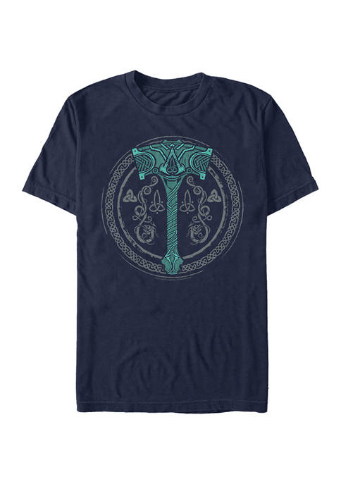 Assassin's Creed Thors Hammer Graphic Short Sleeve T-Shirt