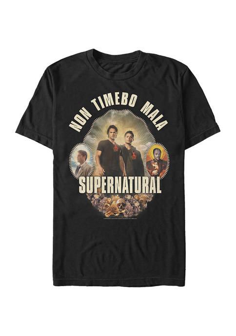 Non Timebo Mala Graphic Short Sleeve T-Shirt