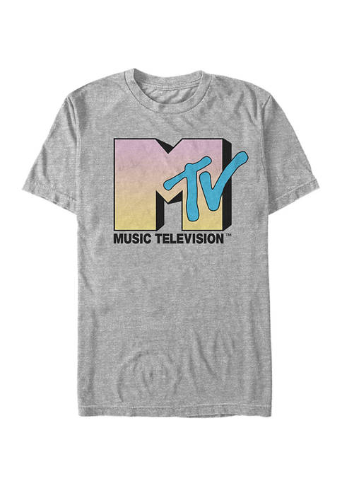 MTV I Want My Front Graphic Short Sleeve