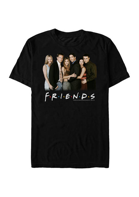 Friends Pose Graphic Short Sleeve T-Shirt