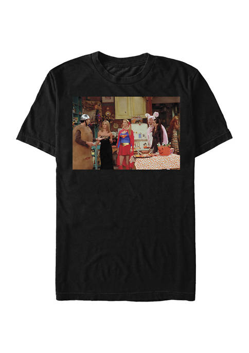 Friends Costumes Graphic Short Sleeve T-Shirt