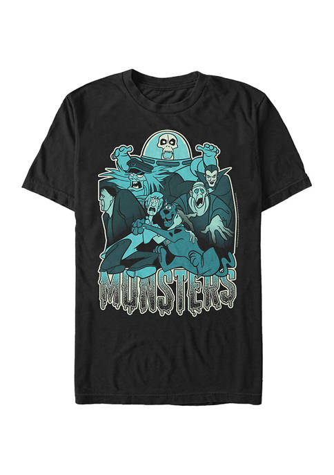 Scooby Doo™ Monsters Graphic Short Sleeve T-Shirt