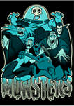 Monsters Graphic Short Sleeve T-Shirt