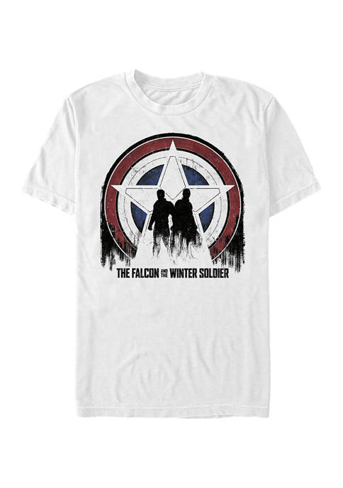 Marvel™ Silhouette Shield Graphic Short Sleeve T-Shirt