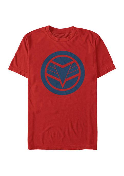 Marvel™ Blue Shield Graphic Short Sleeve T-Shirt