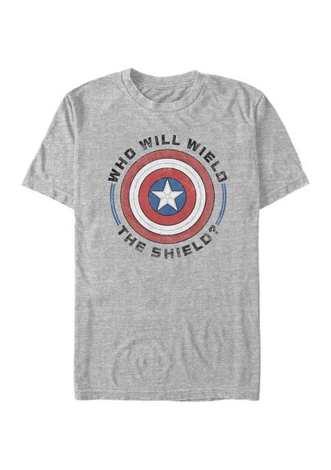 Marvel™ Wield Shield Graphic Short Sleeve T-Shirt