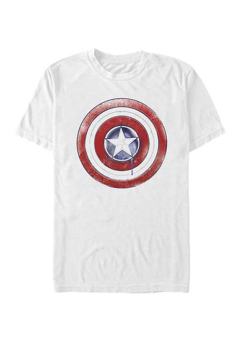 Marvel™ Paint Shield Graphic Short Sleeve T-Shirt