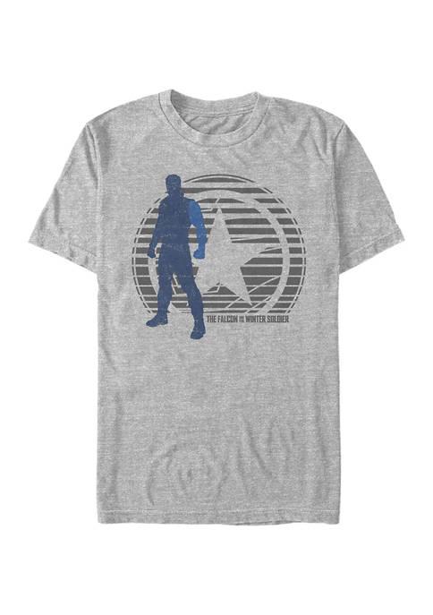 Marvel™ Winter Soldier Simple Lockup Graphic Short Sleeve