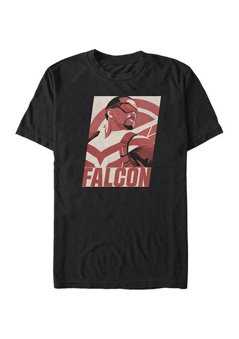 Marvel™ Falcon Poster Graphic Short Sleeve T-Shirt