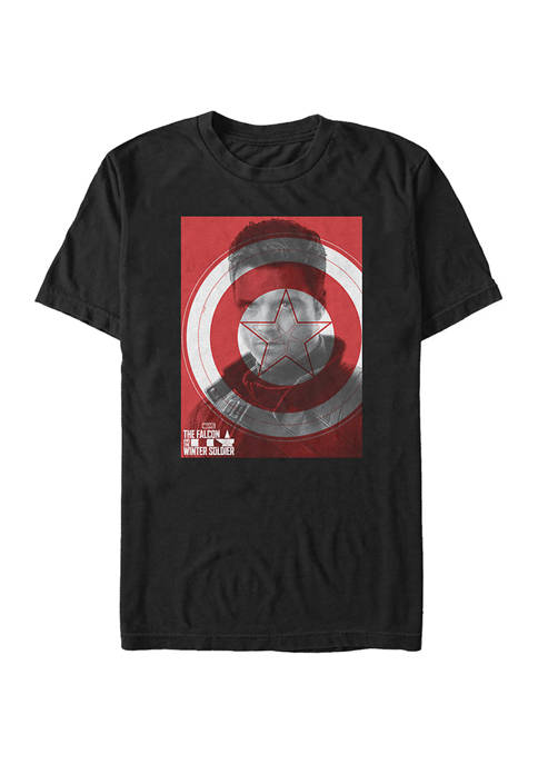 Marvel™ Winter Shield Graphic Short Sleeve T-Shirt