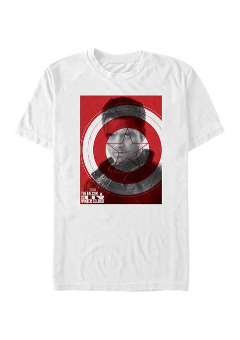 Marvel™ Winter Shield Short Sleeve Graphic T-Shirt