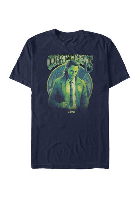 Marvel™ Cosmicalloki Wrong Graphic Short Sleeve T-Shirt