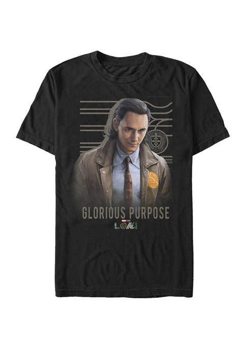 Marvel™ Glorious Purpose Graphic Short Sleeve T-Shirt