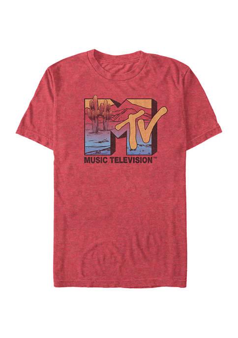 Desert Logo Graphic Short Sleeve T-Shirt