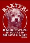 Baxter Bark Graphic Short Sleeve T-Shirt