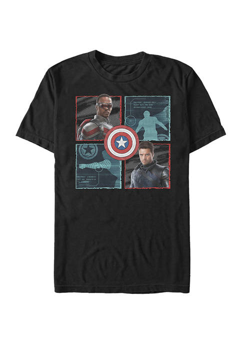Marvel™ Hero Box Up Graphic Short Sleeve T-Shirt