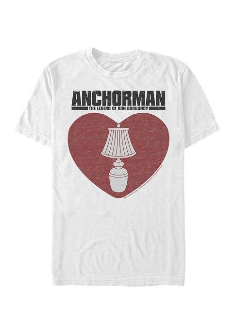 Lamp On Graphic Short Sleeve T-Shirt
