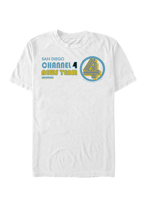 Channel Four Graphic Short Sleeve T-Shirt