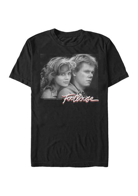 Footloose Photo Cut Up Graphic Short Sleeve T-Shirt