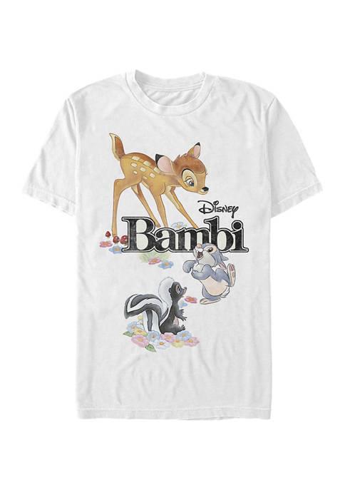 Disney® Juniors Friends Graphic Short Sleeve T-Shirt