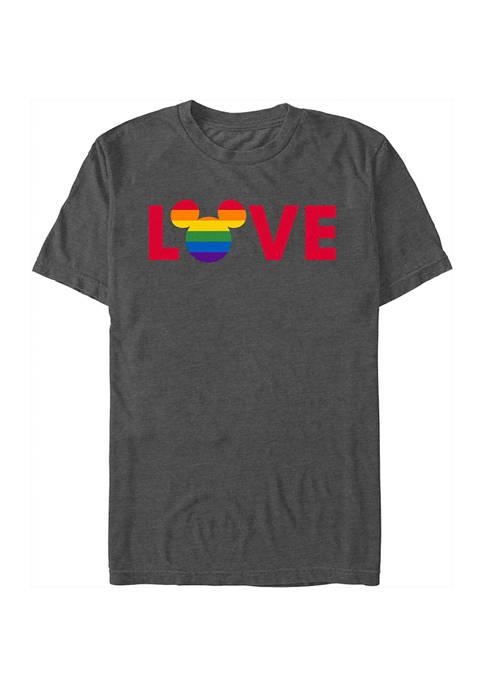 Ears Logo Pride Graphic T-Shirt