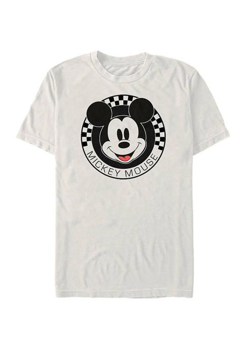 Checkered Short Sleeve Graphic T-Shirt