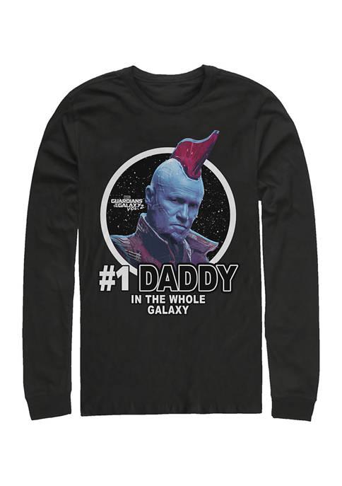 Daddy Yondu Long Sleeve Graphic T-Shirt