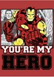 Iron Hero Graphic T-Shirt