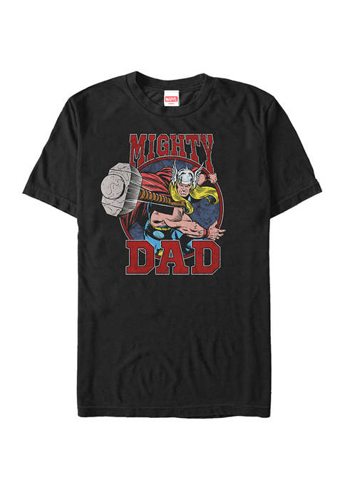 Might Dad Graphic T-Shirt