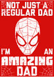Amazin Dad Man Graphic T-Shirt