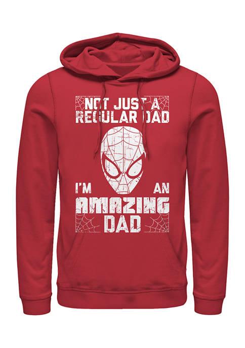 Amazin Dad Man Fleece Graphic Hoodie