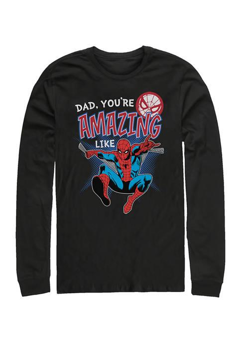 Amazing Like Dad Long Sleeve Graphic T-Shirt