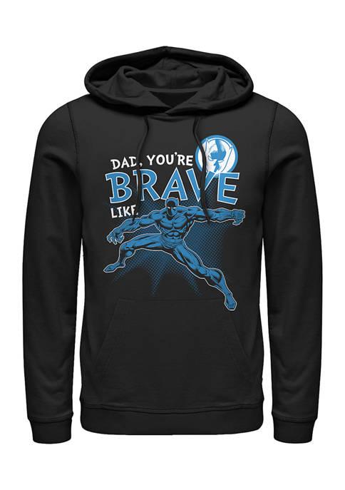 Marvel™ Brave Like Dad Fleece Graphic Hoodie