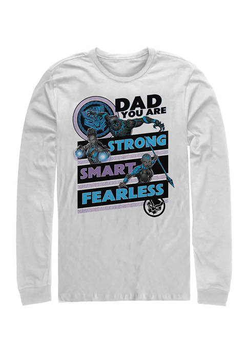 Panther Dad Long Sleeve Graphic T-Shirt