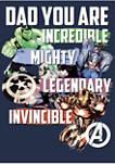 Avenger Dad Graphic T-Shirt