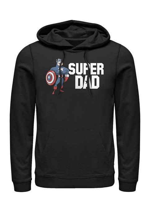 Super Dad Fleece Graphic Hoodie