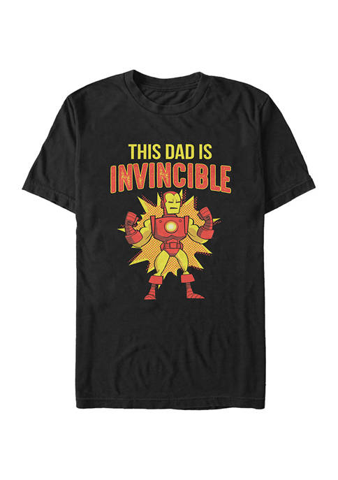 Marvel™ This Dad Is Invincible Long Sleeve Graphic